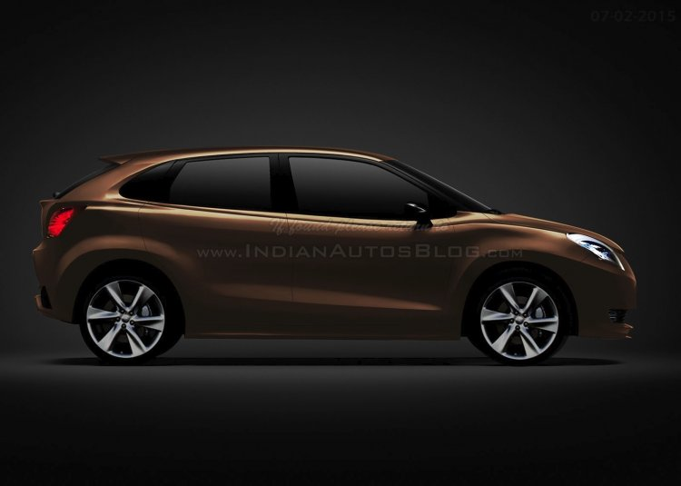 Suzuki iK-2 concept rendering side view