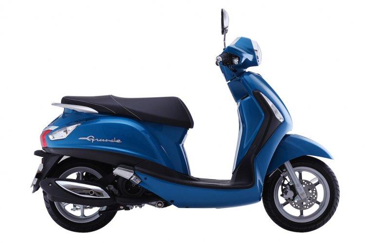 Yamaha Nozza Grande side