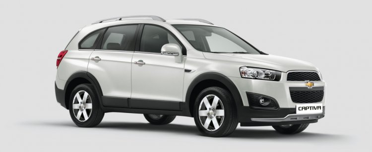 2015 Chevrolet Captiva for India press image