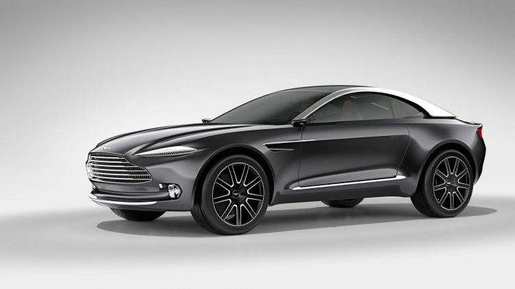 Aston Martin DBX Concept press shot front three quarters