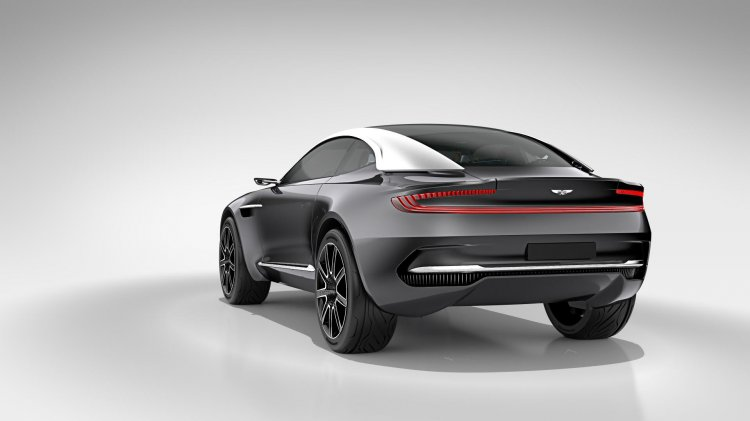 Aston Martin DBX Concept press shot rear quarter