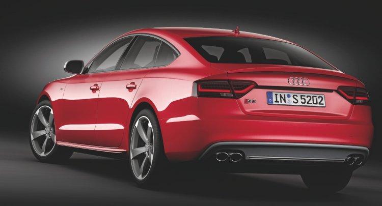 Audi S5 Sportback rear press shot