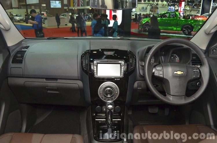 Chevrolet Trailblazer dashboard at the 2015 Bangkok Motor Show