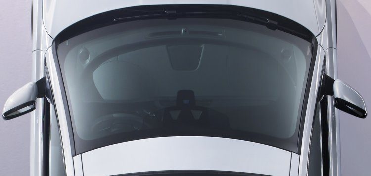Jaguar XF dashboard top view