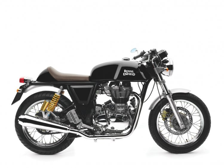 Royal Enfield Continental GT GT Black colour side