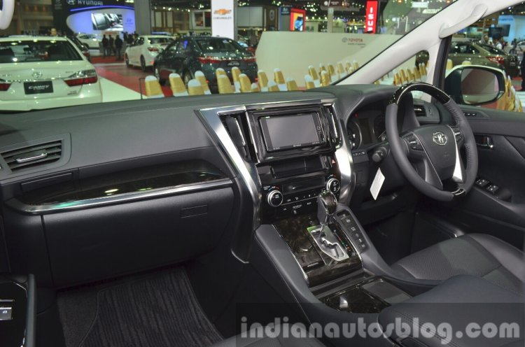 Toyota Vellfire interiors at the 2015 Bangkok Motor Show