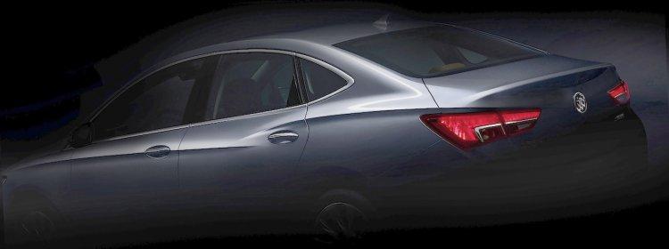 2016 Buick Verano side teaser