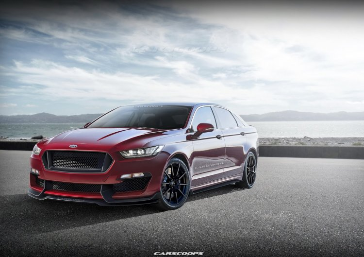 2016 Ford Taurus SHO Carscoops rendering