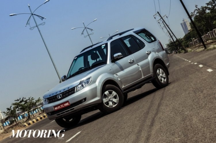 2015 Tata Safari Storme facelift