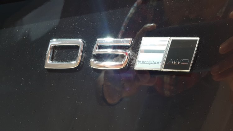 2016 Volvo XC90 D5 badging india launch