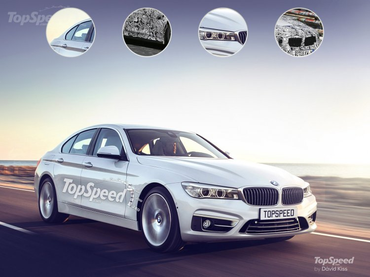 2017 bmw 5-series front three quarter topspeed rendering