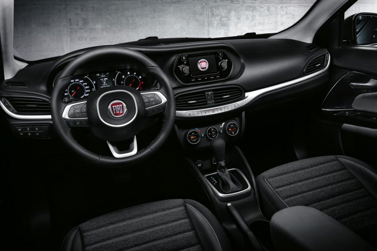 Fiat Aegea interior and dashboard press image