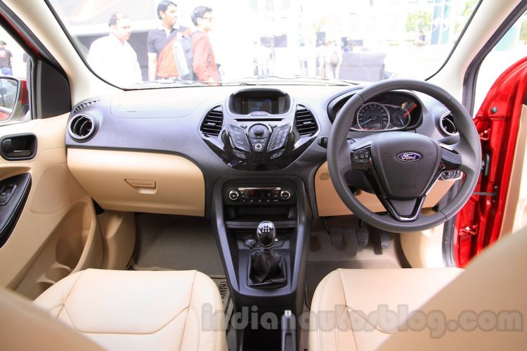 Ford Figo Aspire interior from unveiling