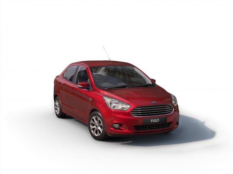 Ford Figo sedan front for South Africa