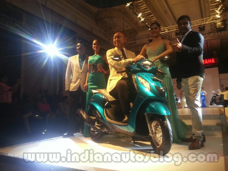 Yamaha Fascino scooter launched in India