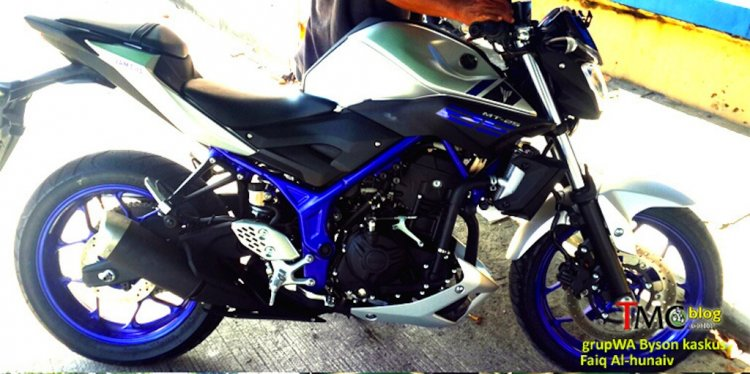 Yamaha MT 25 leaked