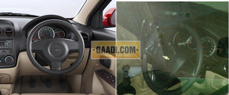 2015 Chevrolet Enjoy facelift interior comparison