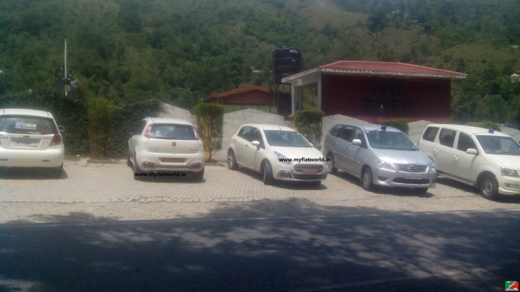 2015 Fiat Punto Evo and Abarth Punto Evo front and rear spotted in the wild