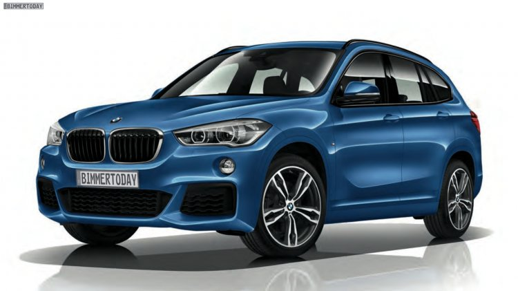 2016 BMW X1 M-Sport Package front three quarter surfaces