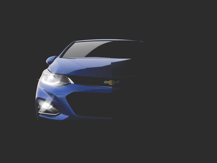 2016 Chevrolet Cruze front official teaser