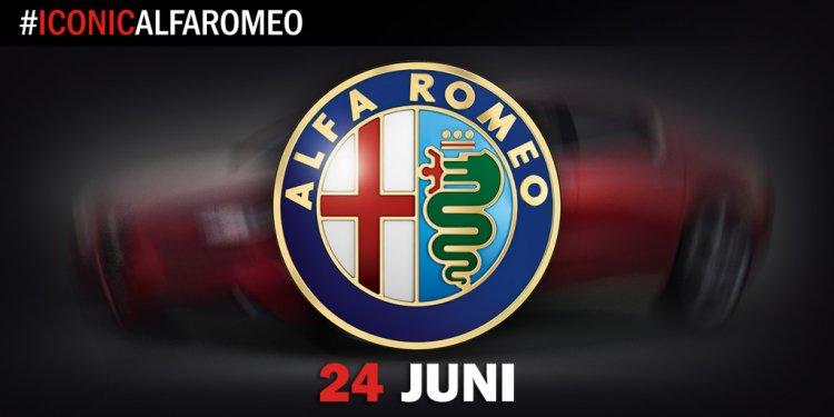 Alfa Romeo Giulia teased