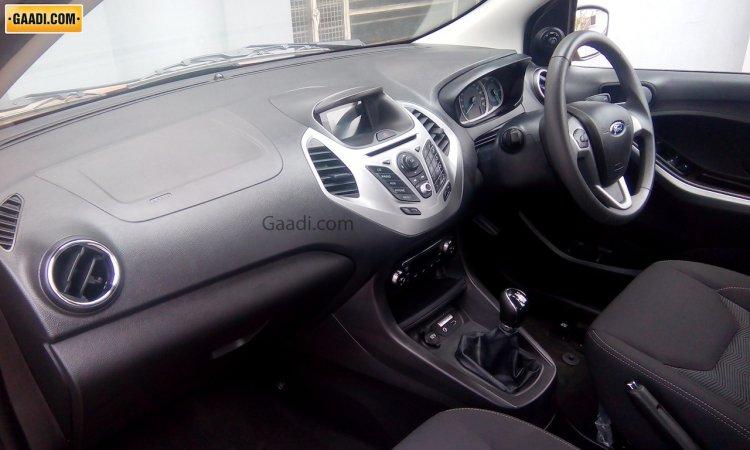 2015 Ford Figo hatchback interior India spied