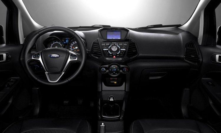 2016 Ford EcoSport interior Europe