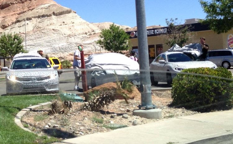 2016 Honda Civic front spotted in Utah