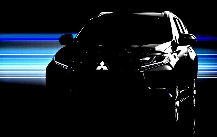 2016 Mitsubishi Pajero Sport teased