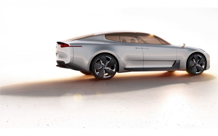 Kia GT concept rear three quarters right