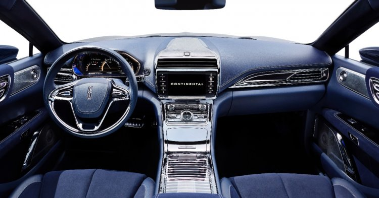 Lincoln Continental Concept interior press image