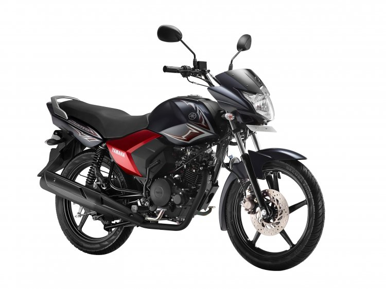 Yamaha Saluto front three quarter gets a disc brake and new colors