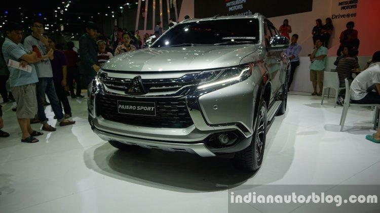 2016 Mitsubishi Pajero Sport left front three quarter at the BIG Motor Sale Thailand