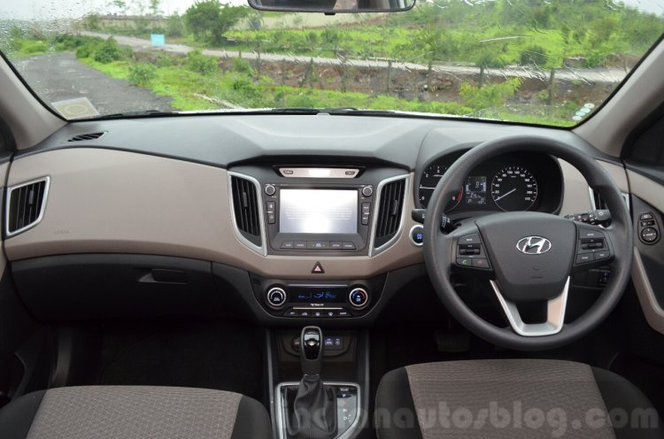 Hyundai Creta Diesel AT dashboard Review