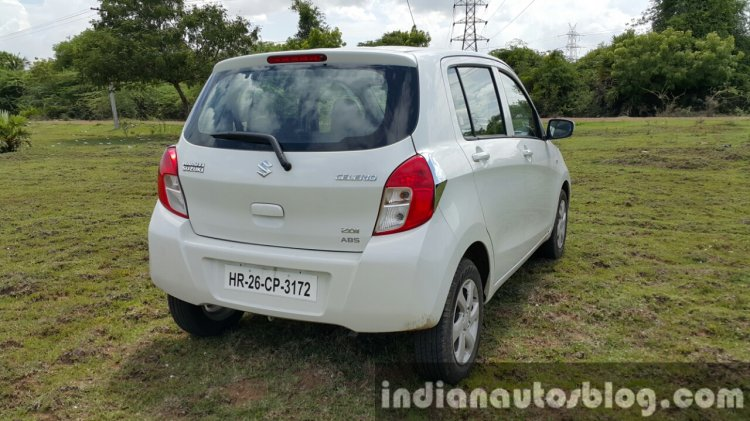Maruti Celerio ZDI (O) DDiS 125 rear quarter (1) review