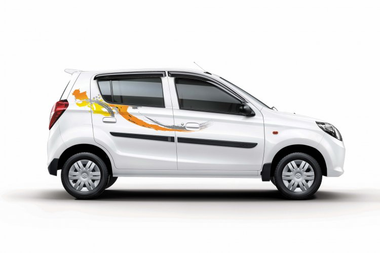 Maruti Suzuki Alto 800 Onam Limited Edition side official