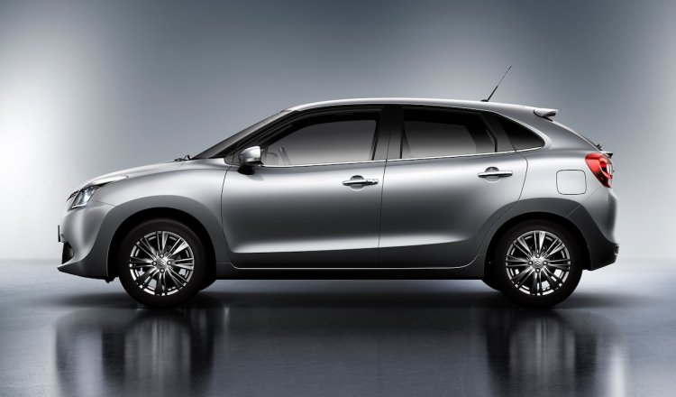 Suzuki Baleno 2015 side view