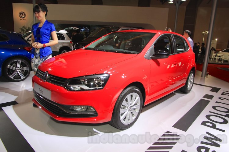 VW Polo front three quarter at Indonesia International Motor Show 2015 - Image Gallery