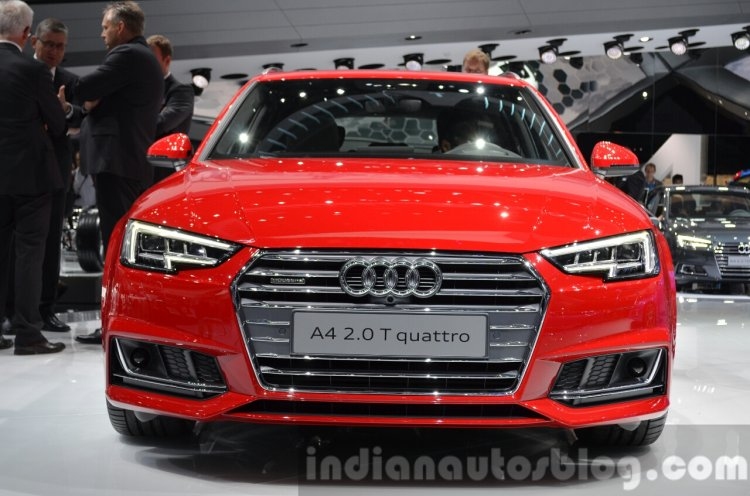 2016 Audi A4 Avant S-line front at the IAA 2015