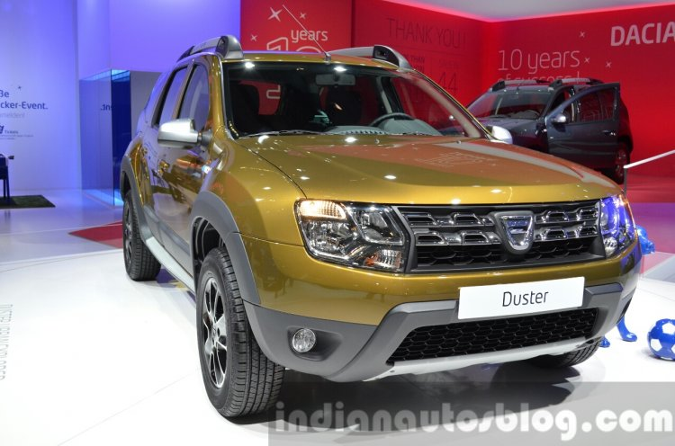 2016 Dacia Duster front bumper at IAA 2015