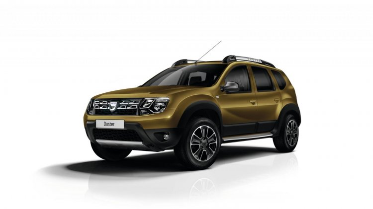 2016 Dacia Duster press shots