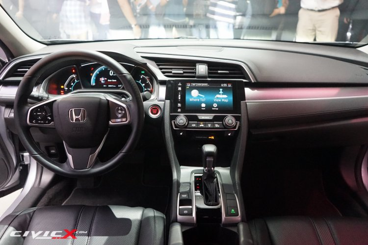 2016 Honda Civic dashboard live images