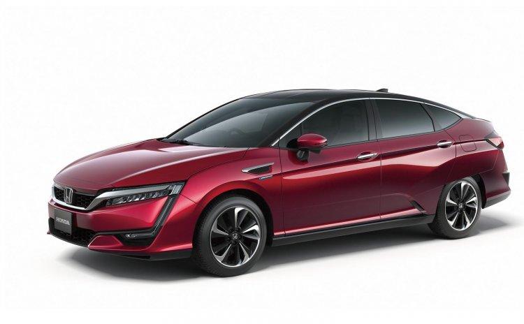 Honda FCV press image side released ahead of Tokyo Motor Show 2015