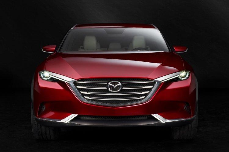 Mazda Koeru Concept front view press image