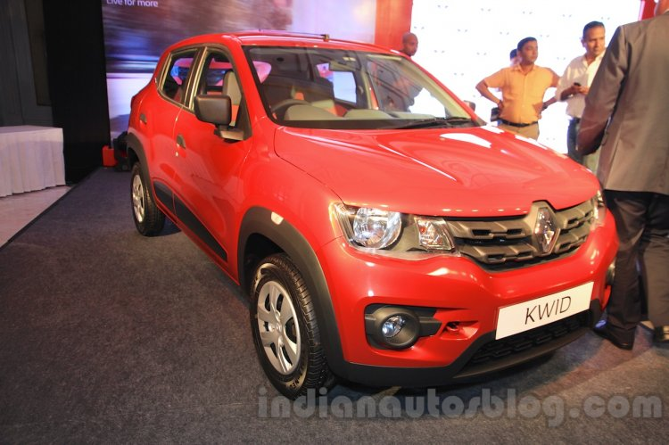 Renault Kwid front quarter launched India