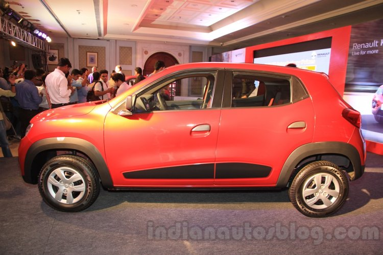 Renault Kwid side launched India