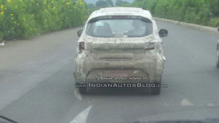 Tata Kite rear spotted on test in India