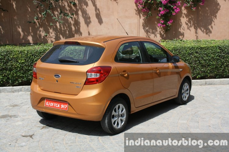 Ford Figo facelift exterior changes and features