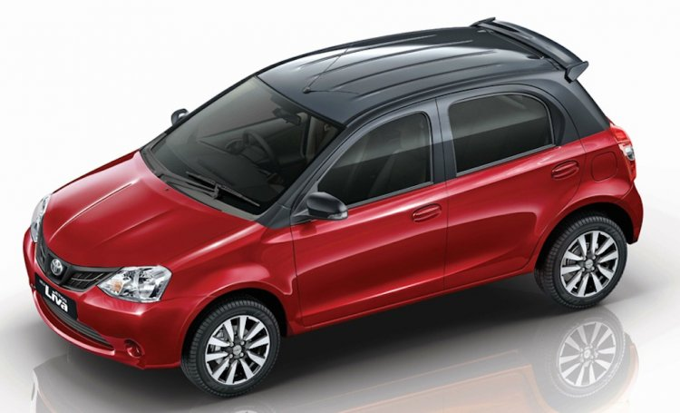 2015 Toyota Liva Special Edition Red and Black