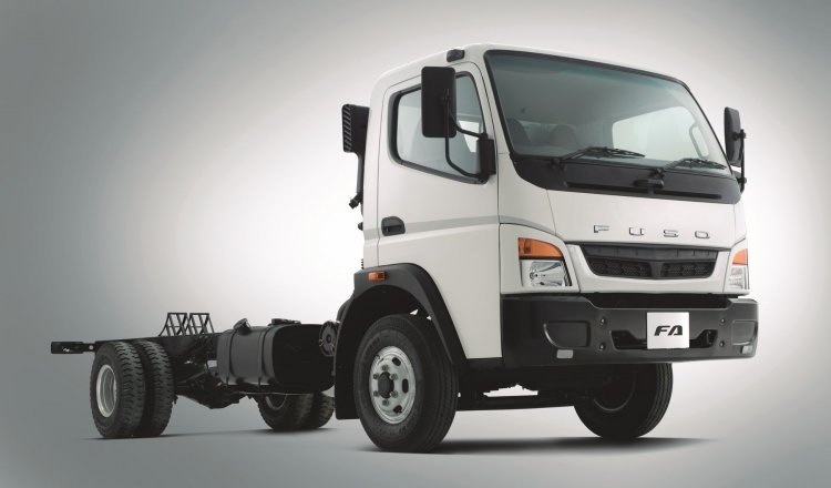 FUSO FA front three quarter official
